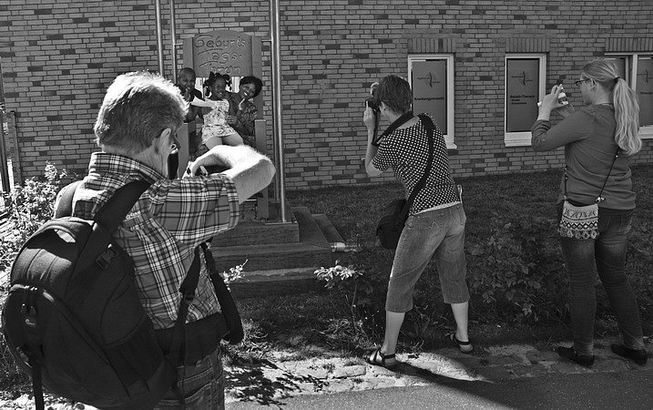 Fotografen oder das Objekt der Begierde
