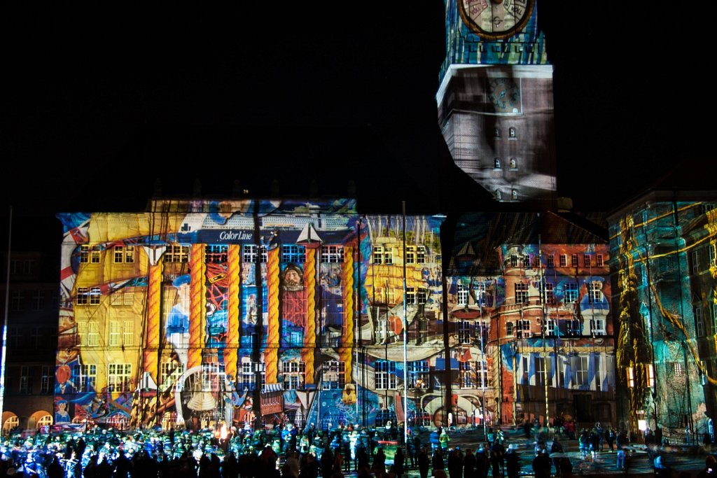 Festival of lights 2014 in Kiel