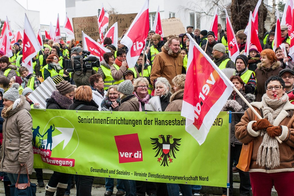 Protest gegen eine Pflegekammer
