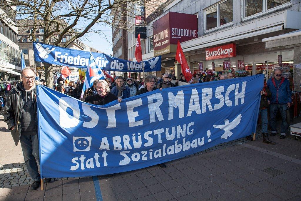 Ostermarsch in Kiel
