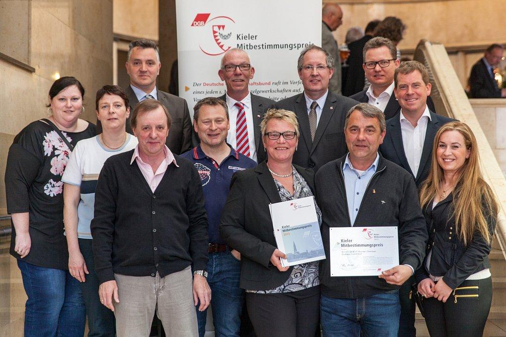 Kieler Mitbestimmungspreis 2015