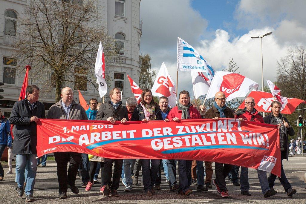 1. Mai 2015 in Kiel
