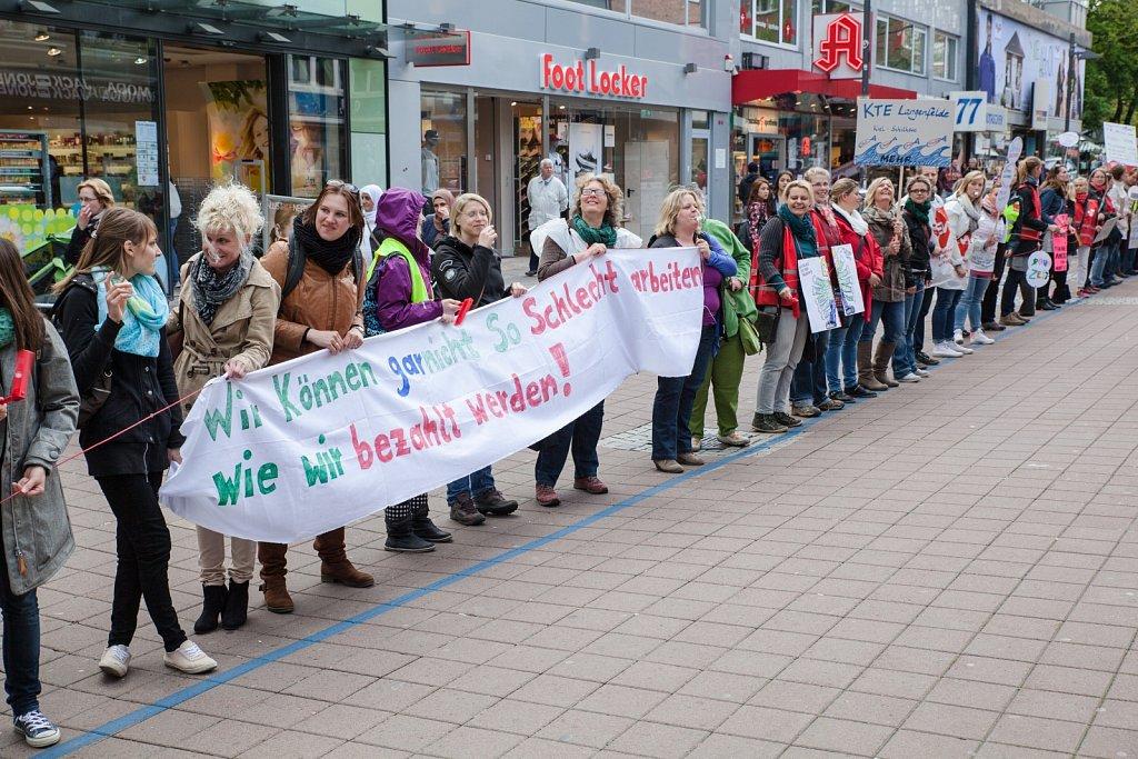 Aktionstag der Sozial- und Erziehungsdienste in Kiel