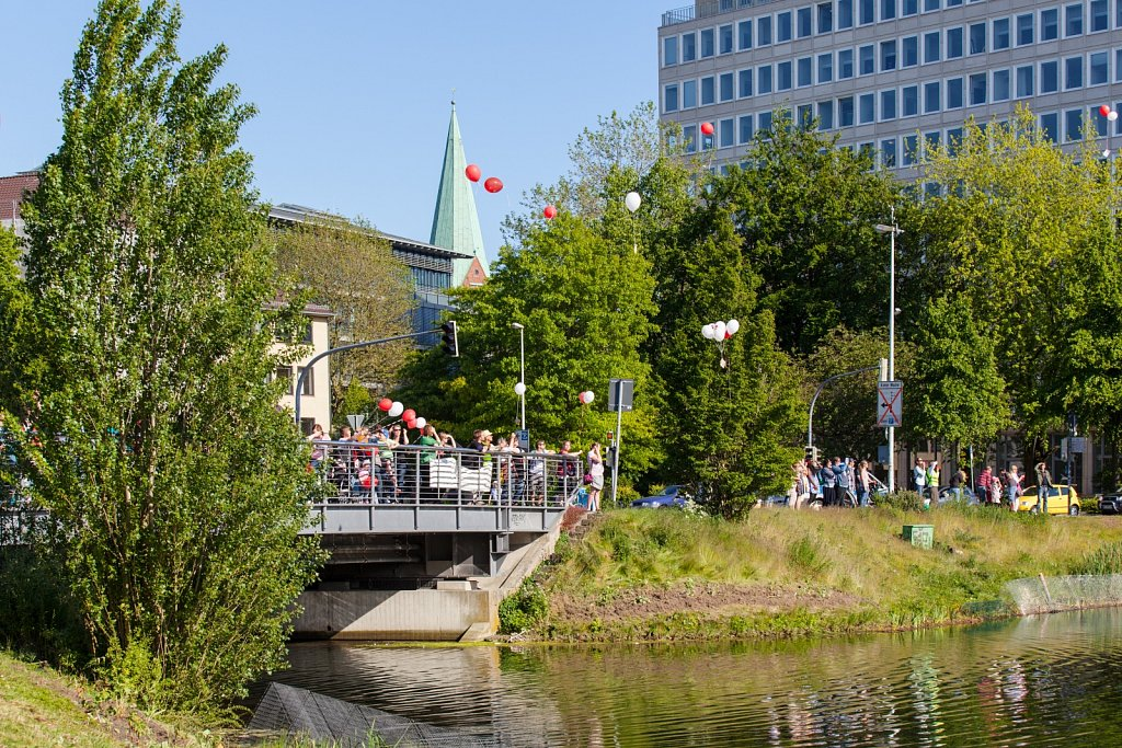 Demonstration der Sozial- und Erziehungsdienste in Kiel