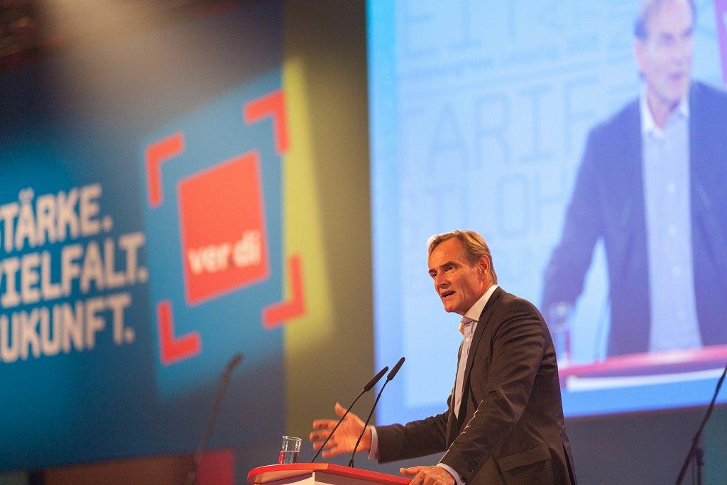 ver.di Bundeskongress 2015 in Leipzig