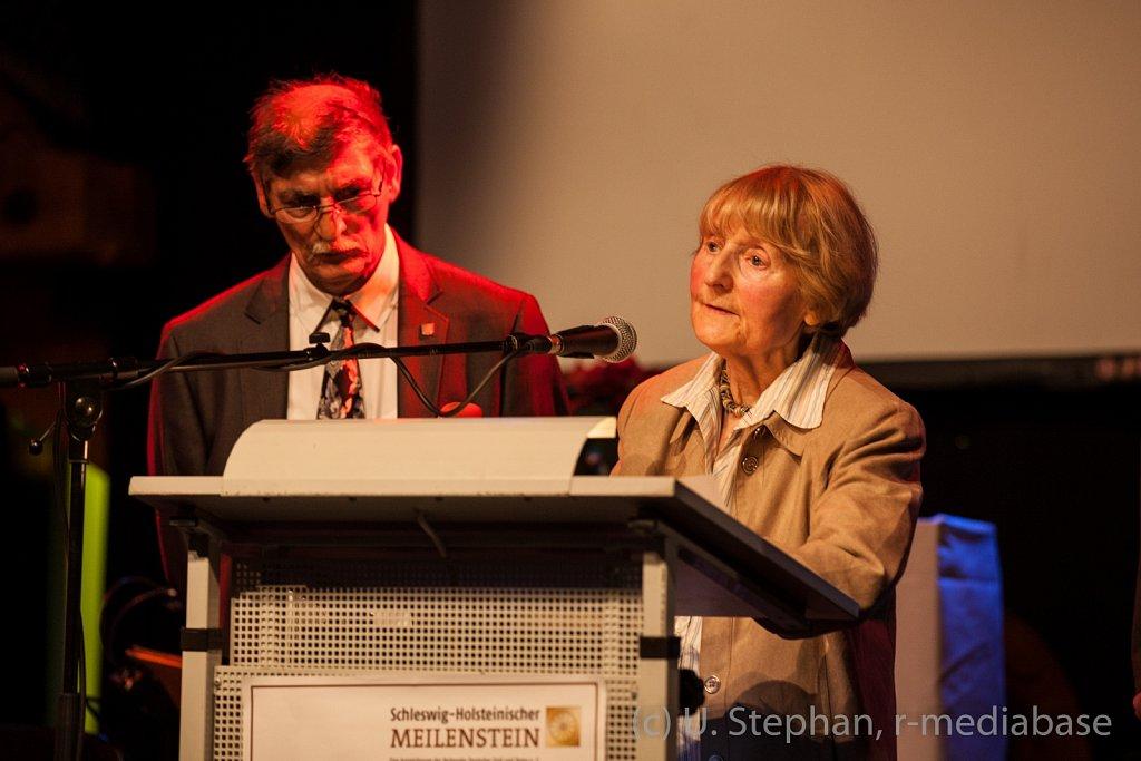 Jahresempfang und Verleihung des Schleswig-Holsteinischen Meilensteins des Landesverbandes der Sinti und Roma