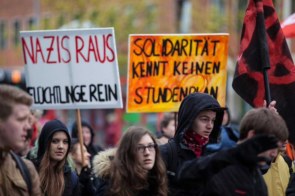 Antirassistischer Schulstreik in Kiel