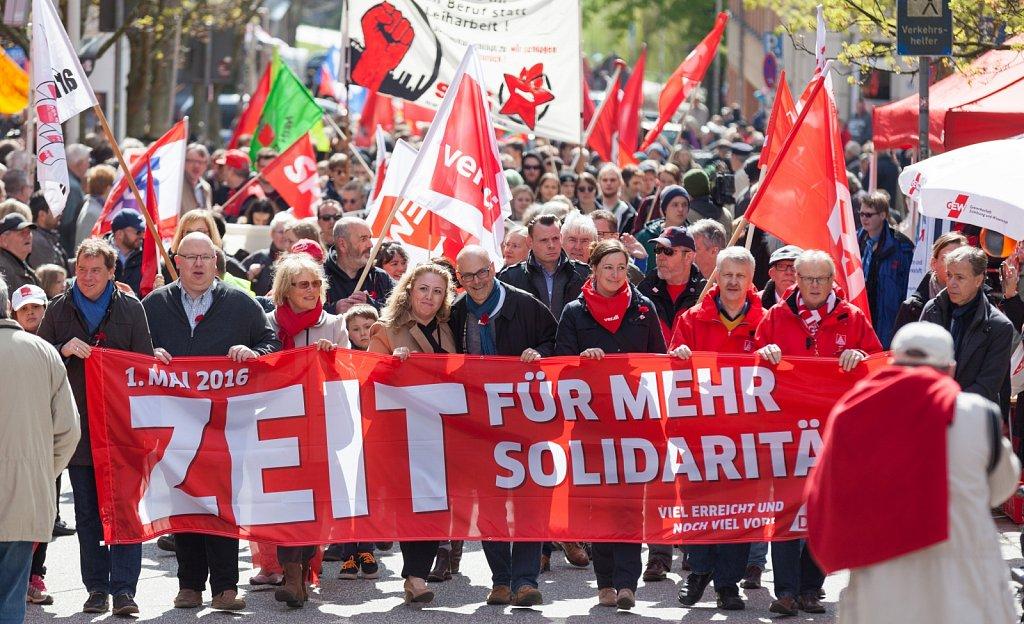 1. Mai 2016 in Kiel