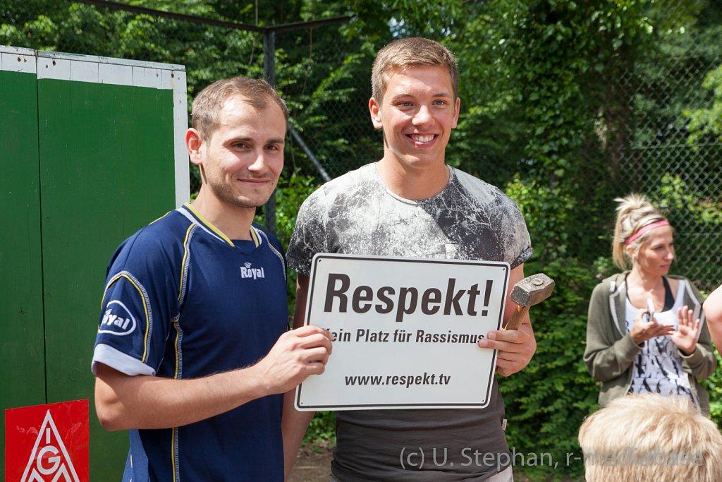 IG Metall und openhaart: Kicken für mehr Respekt- kein Platz f