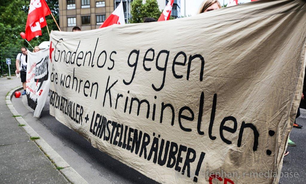 Grenzenlose Solidarität statt G20 !