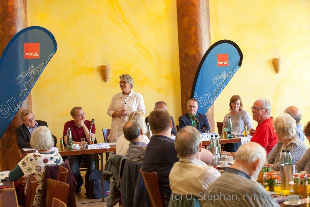 Diskussion zur Bundestagswahl im Gewerkschaftshaus