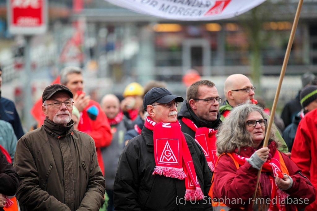 Küstenaktionstag der IG Metall in Kiel