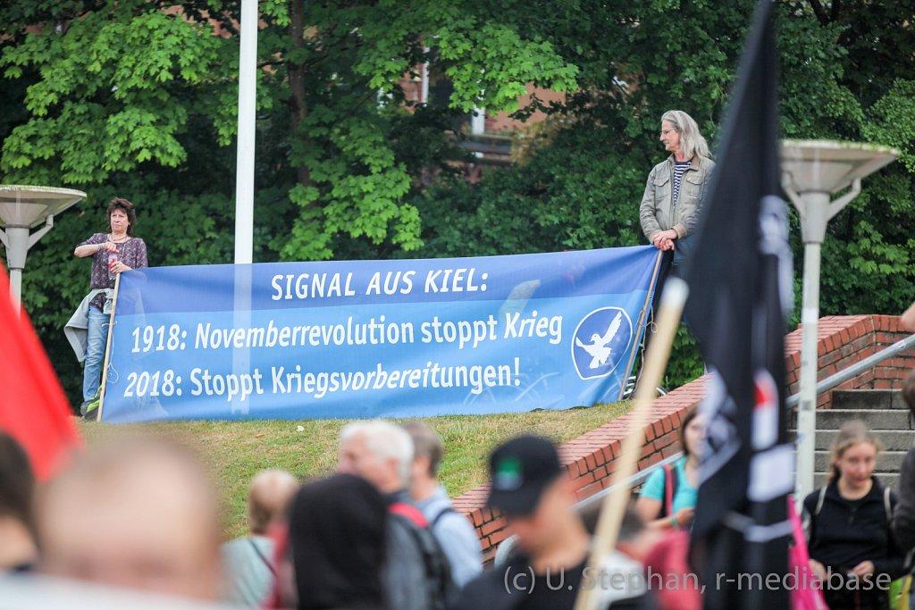 Entmilitarisierung der Kieler Woche!