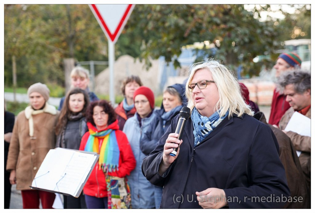 Einweihung Anni-Wadle-Weg in Kiel
