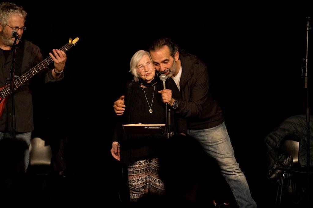 Esther Bejerano und die Microphone Mafia