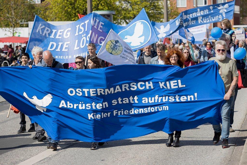 Ostermarsch 2019 in Kiel