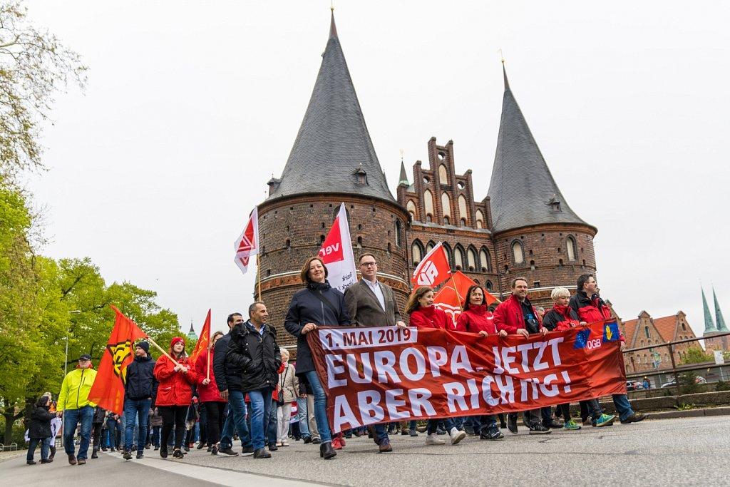 1- Mai 2019 in Lübeck