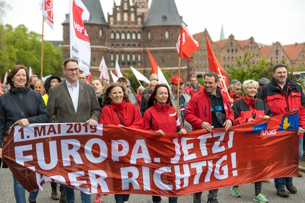 1. Mai 2019 in Lübeck