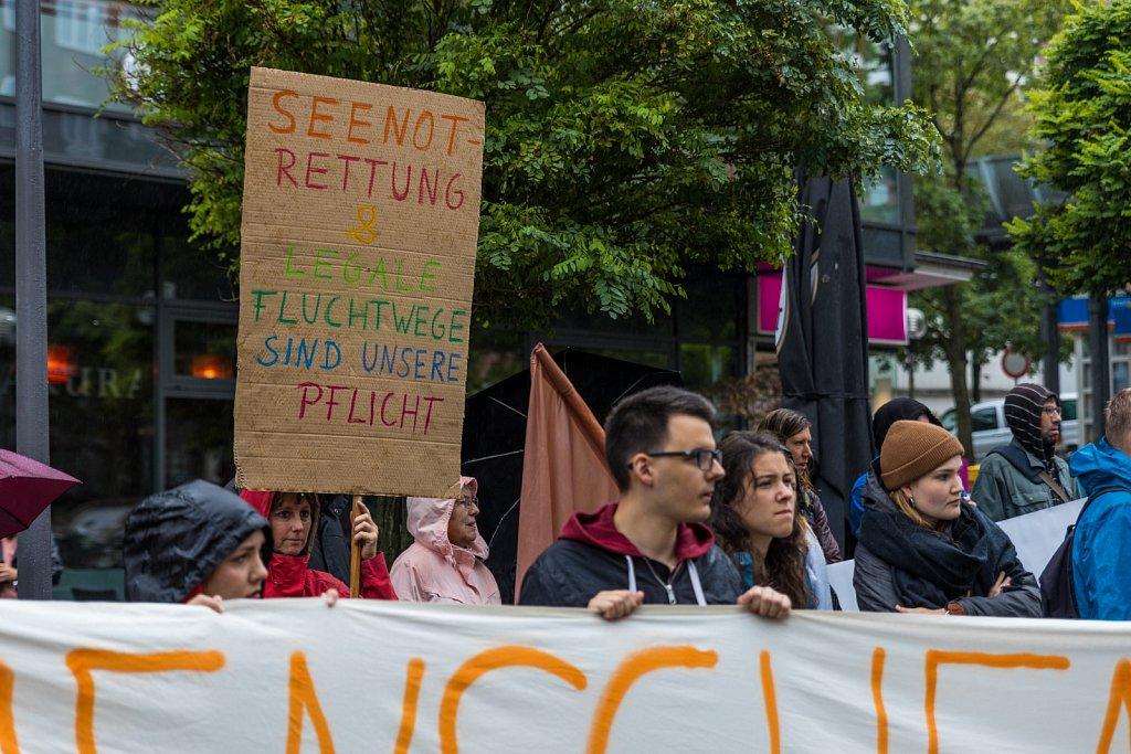 Kundgebung: Für die Rechte von Geflüchteten und #FreeTheShips!