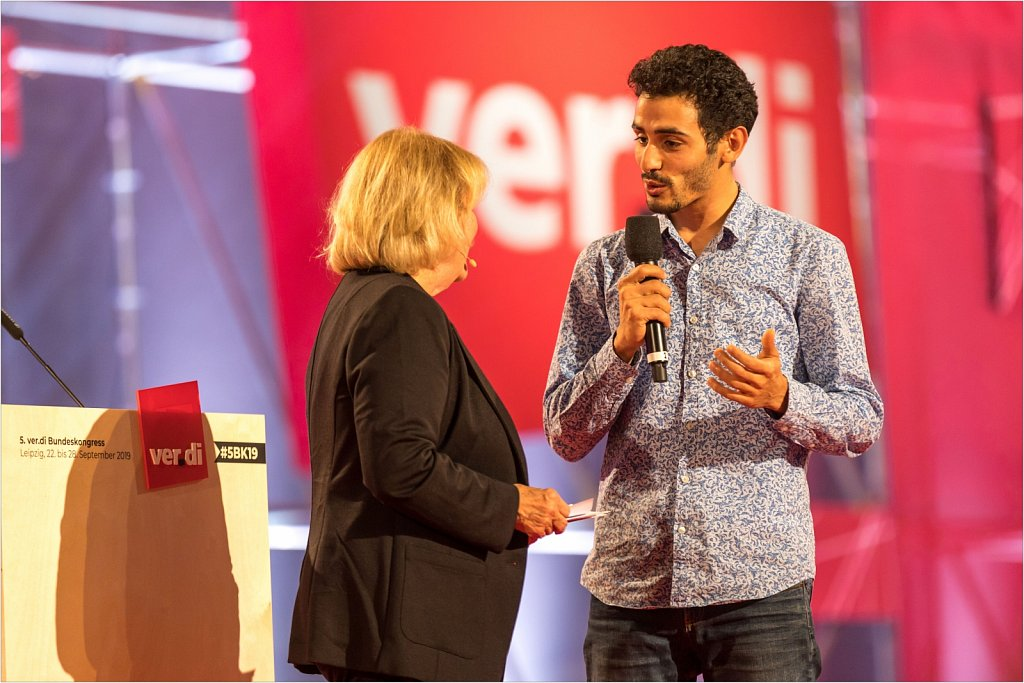 Ver.di Bundeskongress 2019 in Leipzig