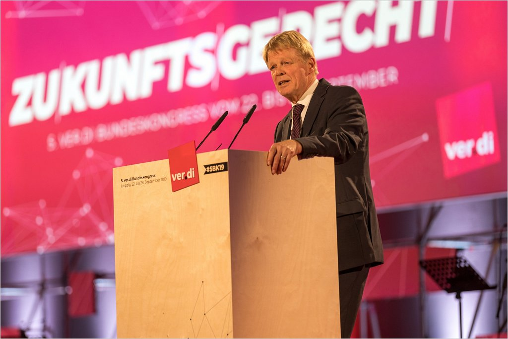 Ver.di Bundeskongress 2019 in Leipzig