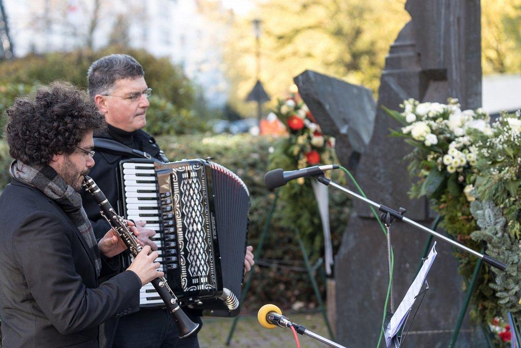 Gedenken der Reichprogromnacht in Kiel