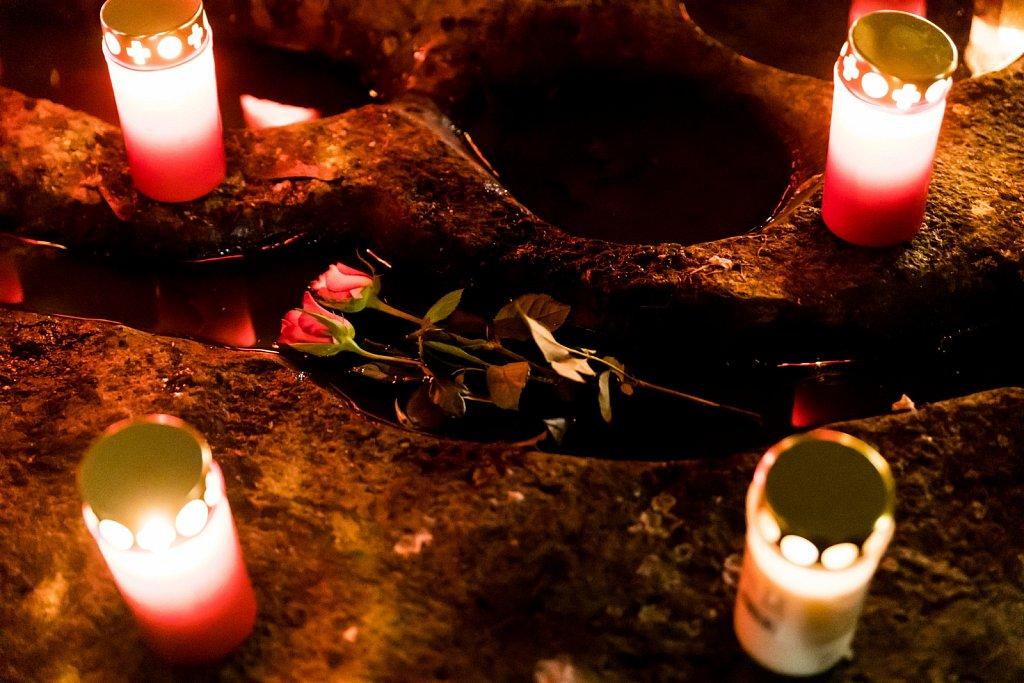 Gedenkken der Opfer von Mölln 1992